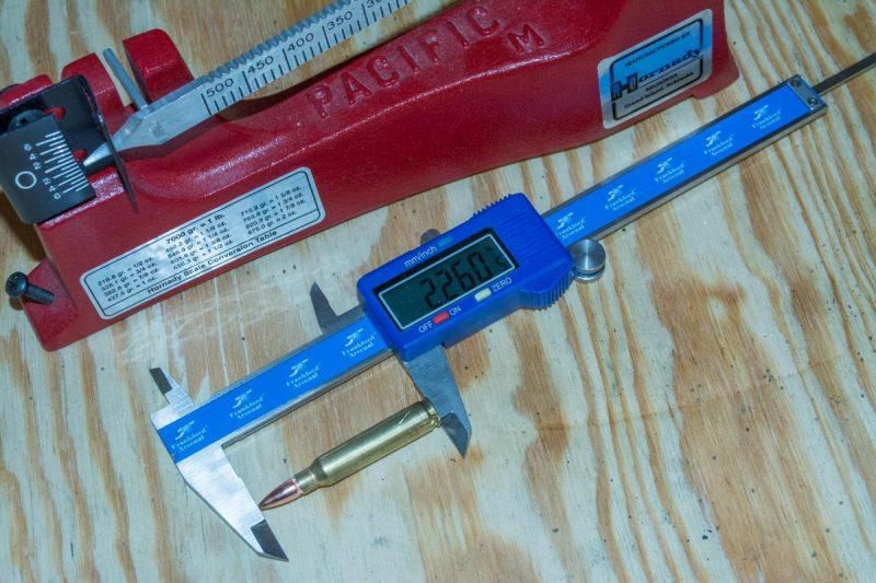 You'll need a couple of basic tools, like these Frankford Arsenal calipers and Hornady beam scale.