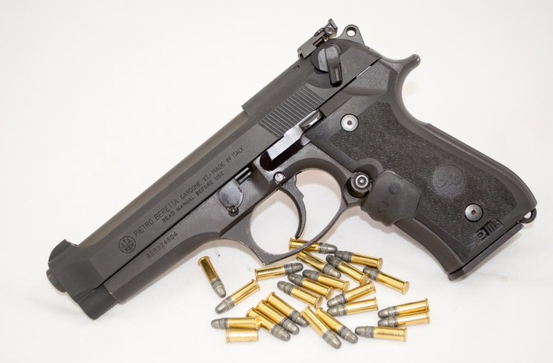 Your gun, plus a new slide, barrel, and magazine, makes a great .22LR pistol.