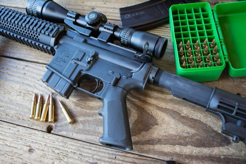 The AR platform can be adapted to dozens of different calibers, like this Rock River Arms LAR-6.8 chambered in 6.8 Remington SPC.