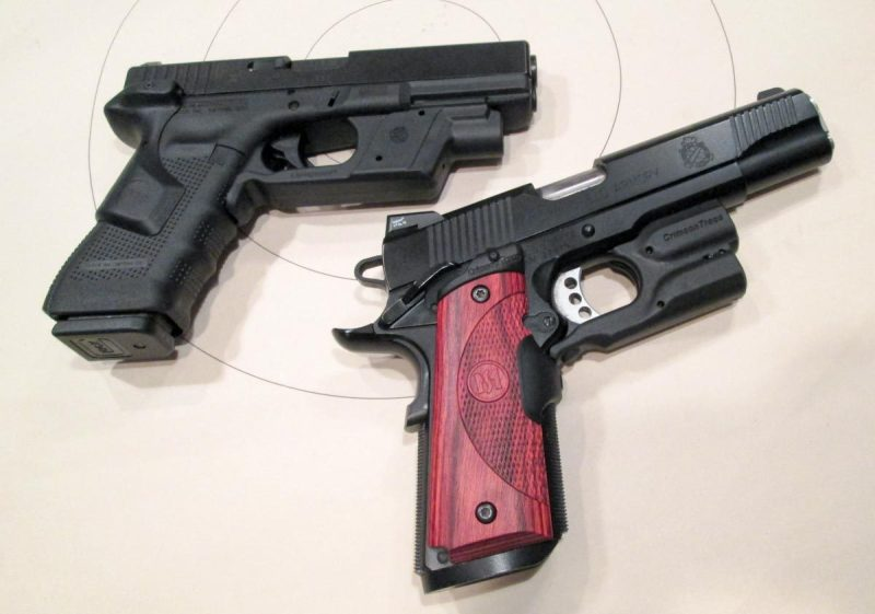 It's now practical to equip a carry gun with both light and laser.