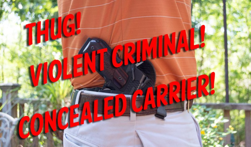 Concealed carry thug
