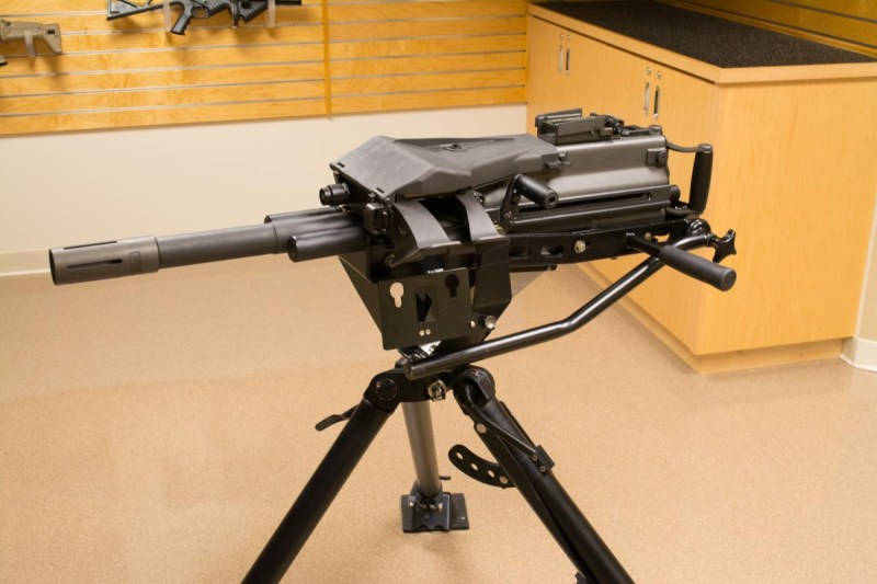 The MK-19 Automatic Grenade Launcher