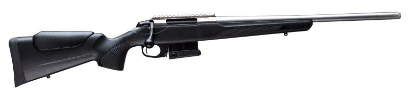 Beretta's new Tikka T3x Compact Tactical with stainless steel barrel.
