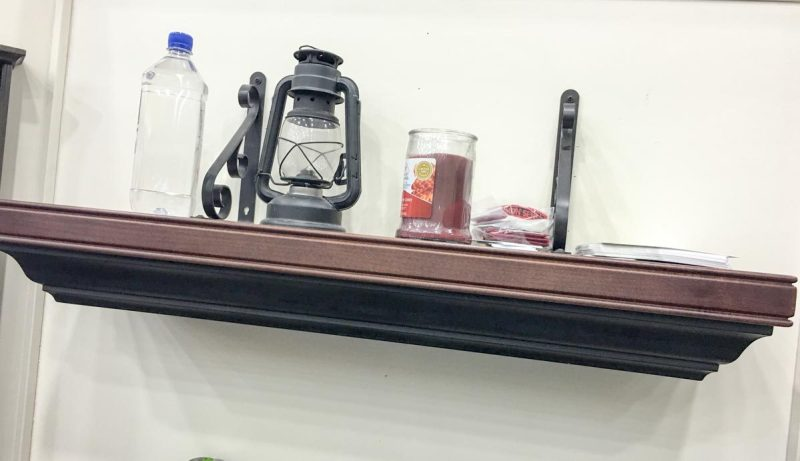 When closed, the Concealment Shelf looks perfectly natural.