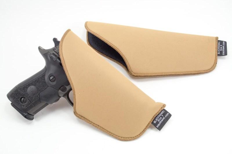 OK. I'll admit it. I wasn't impressed until I tried this pair of Blackhawk! TecGrip holsters.