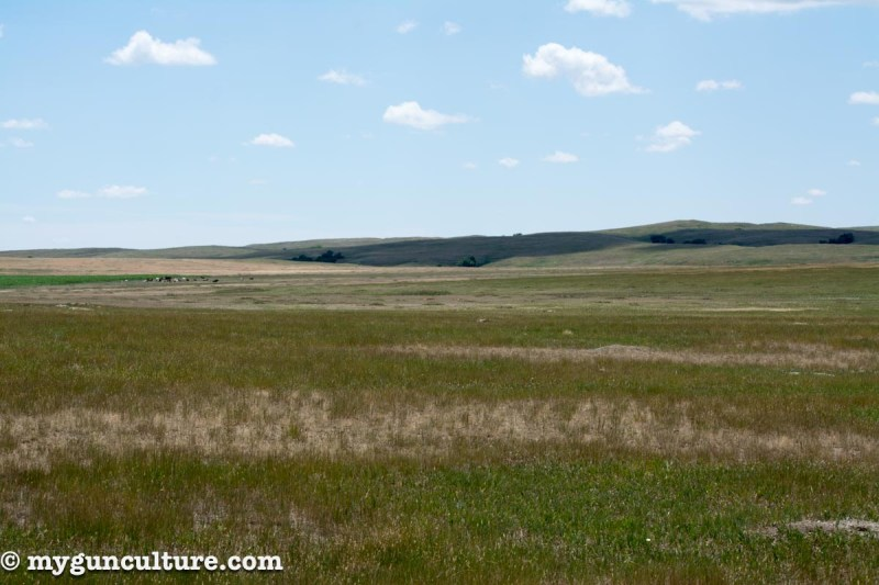In South Dakota countryside like this, 300-yard plus shots are the norm, not the exception.