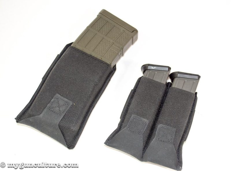 These Blue Force Gear magazine pouches look so simple but are amazingly functional.