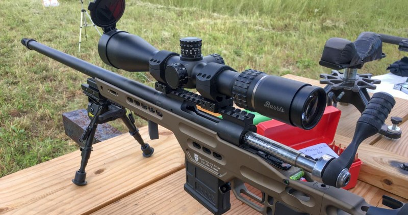 Whether you use a rest or bipod, make sure you shoot from a stable position when setting your zero.