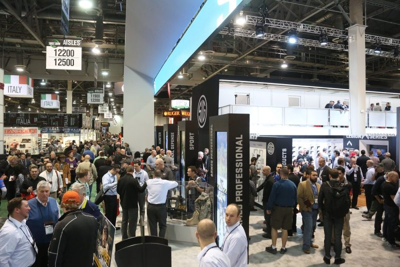 SHOT Show, photo courtesy of the National Shooting Sports Foundation.