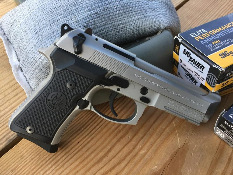 Beretta's 92 Compact INOX Model.