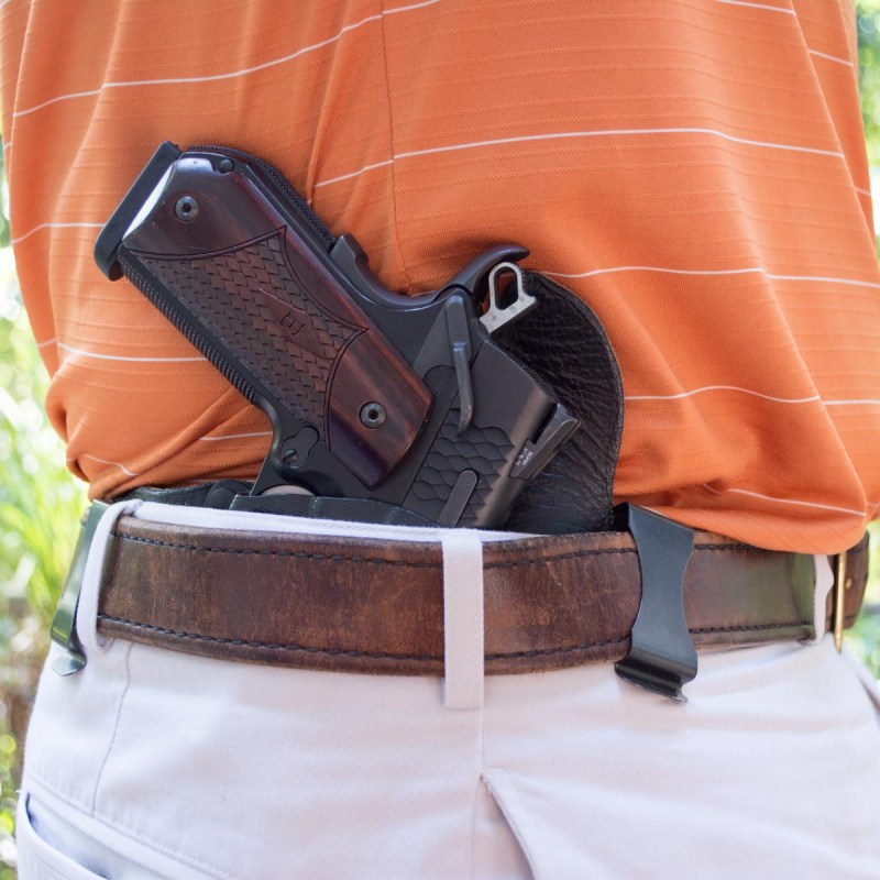 While there are situations where inside-the-waistband carry can be a challenge, it's a great option overall.