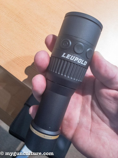 Here's a nifty SHOT Show find, a new infrared thermal monocular from Leupold. The best part? The MSRP is something like $699.