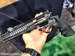 A .357 Magnum revolver from Korth, distributed by Nighthawk Custom.