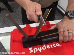 So apparently this exceptionally handy knife sharpening system from Spyderco has been on the market for about a million years, but it took me until SHOT Show 2017 to find it.