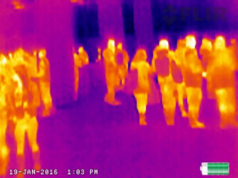 SHOT Show is not only guns, but related gear too. Last year, I talked the folks from FLIR into letting me wander the halls with one of their new Scout Infrared optics.