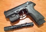 Two pieces of life-saving gear: a good flashlight and a weaponlight and laser. How should you use them together?