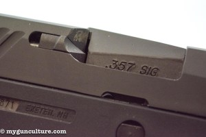 The Sig P320 uses an external extractor.