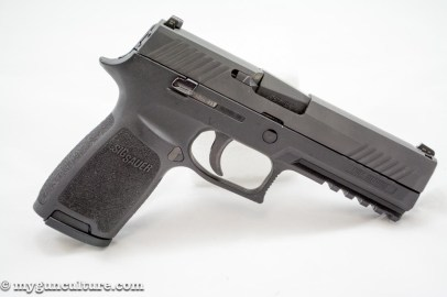Sig Sauer P320 full size, right side.