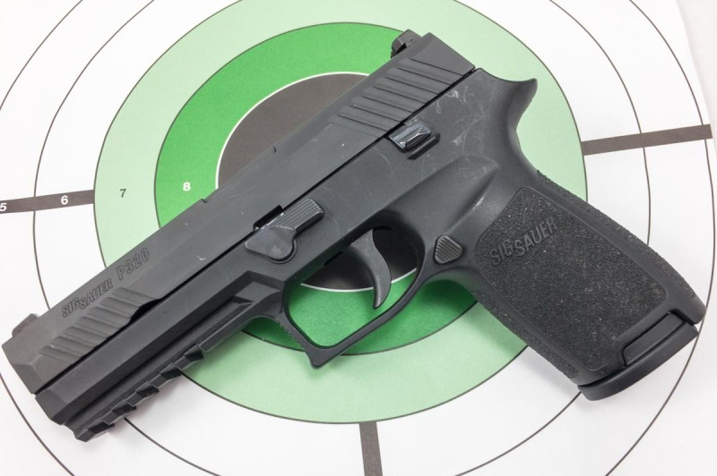 The Army's new handgun, the Sig Sauer P320, is a polymer-framed, striker-fired design, but there's a lot more.