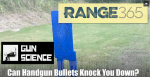 Gun Science: Can a Handgun Knock You Down? [VIDEO]