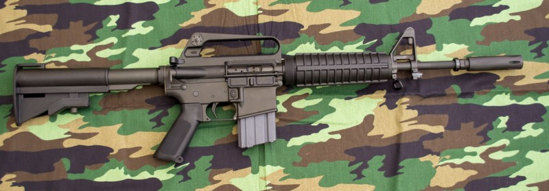 Here's a brand new version of the famous Colt Commando - the Brownells XM177E2.