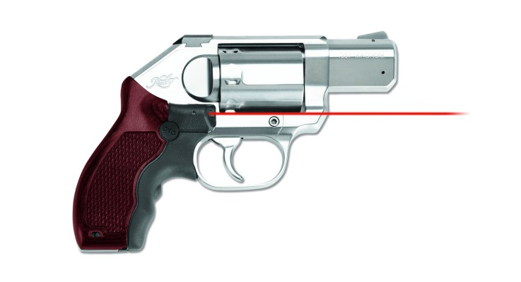 Crimson Trace Releases New Lasergrips for Kimber Revolver