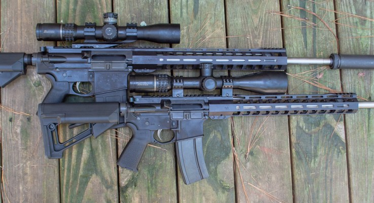 A Pair of Long-Range AR Rifles from Palmetto State Armory