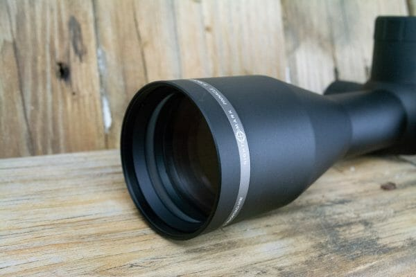 If bigger is better... The Sightmark 5-30x50 Pinnacle features a 50mm objective lens and a 34mm tube.