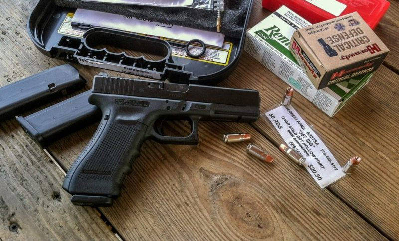 The Glock 31 chambered in .357 Sig is right at home in a number of State Trooper and Federal agencies.