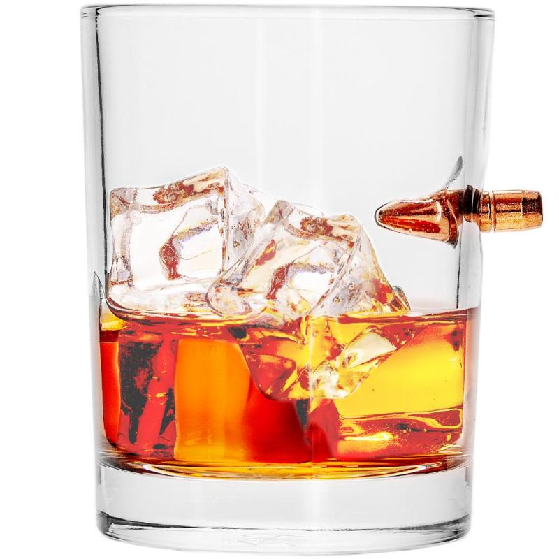 Gift Idea - Lucky Shot bullet cocktail glass