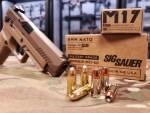 Sig Sauer M17 9mm +P Ammuntion