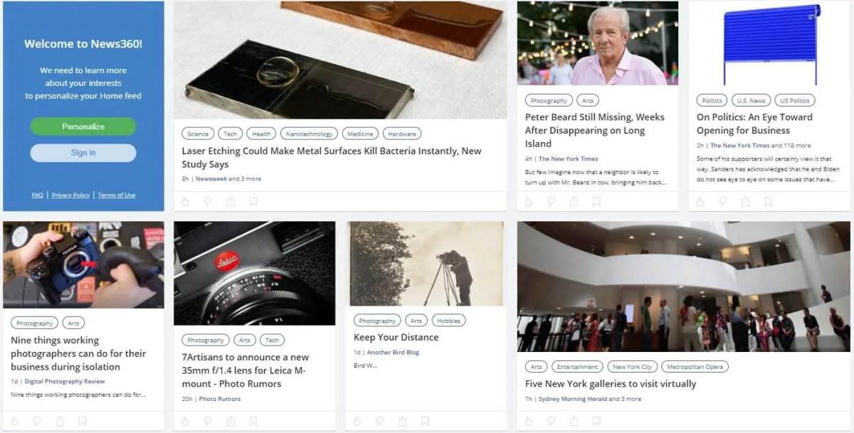 news360 - sites like Quora