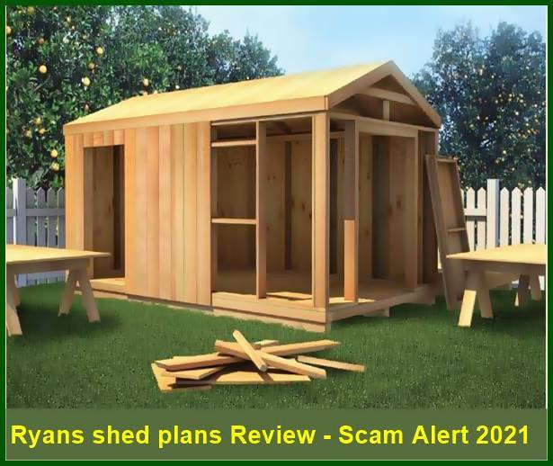 Ryans shed plans Review