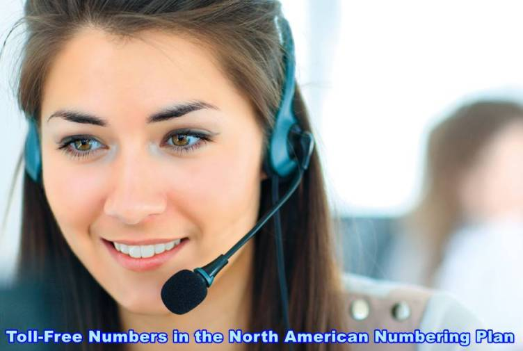 Toll-Free Numbers in the North American Numbering Plan