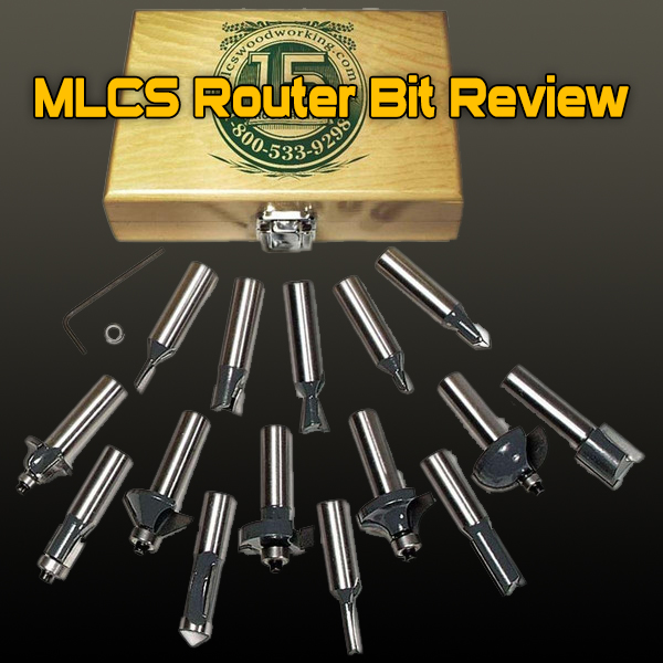 MLCS Router Bit Review and Wood Router Bit Buying Guide