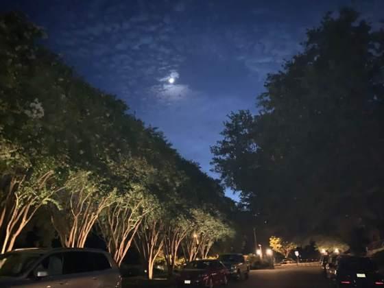 moon in Austin