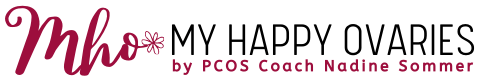 Logo PCOS Coach Nadine Sommer My Happy Ovaries