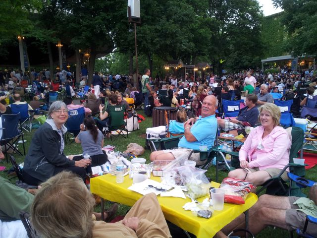 June 2012 Steve Martin Event at Ravinia
