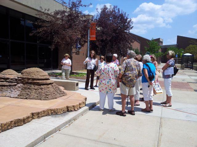 July 2012 Harper College Art Tour