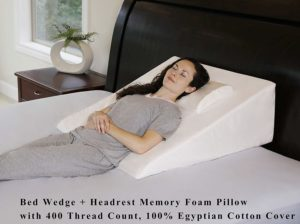 InteVision Wedge Pillow for After Surgery Sleep