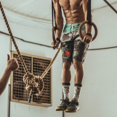 lower chest workout Dips static hold at bottom position