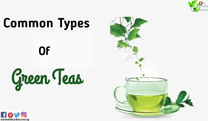 Types of green teas