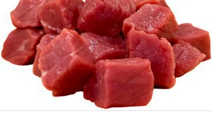 raw red meat