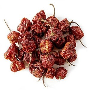 Monsoon Spice Company Carolina Reapers Dry Whole Pepper Pods Hottest Peppers in the World | Free Domestic Shipping