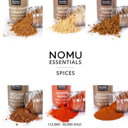 NOMU Essentials 12-Piece Herbs & Spices Starter Set Range   Non-irradiated, No MSG or Preservatives