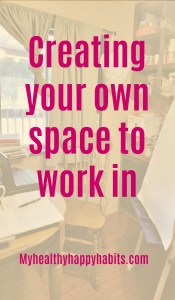 Creating My Own Space To Encourage Others In
