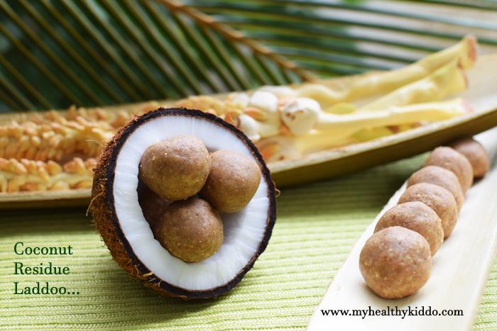 Coconut Residue Laddoo-3
