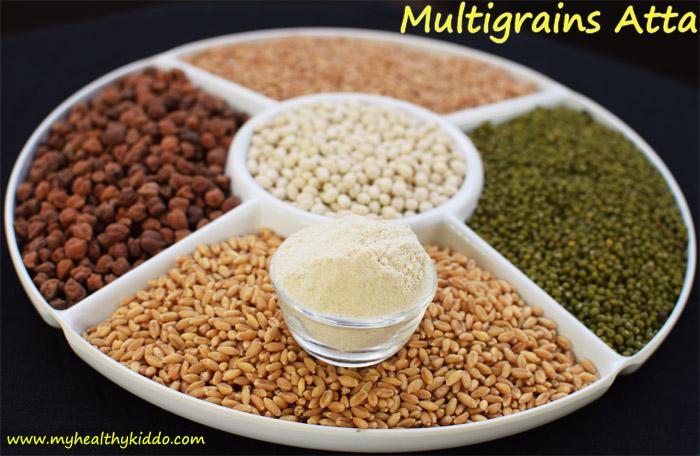 Homemade Multigrains Atta-1