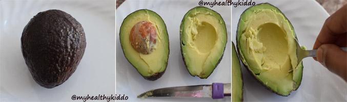 how-to-make-avocado-banana-puree-for-babies-step-1
