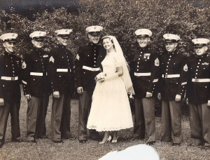 Wedding Party July 13, 1957